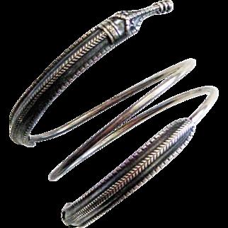 David-Andersen Sterling Saga Bracelet Viking Design Vintage Norway