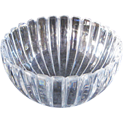 Vintage Tiffany Co. Leaded Glass Candy Dish by Riedel, Austria