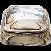 Antique 830 Silver Denmark Skonvirke Pill Box Trinket Box