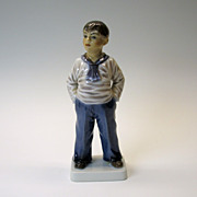Dahl Jensen porcelain figure of a Sailor type boy