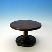 Victorian miniature mahogany dolls center table
