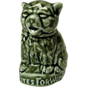 Suffrage porcelain cat advertising figure-VOTES FOR WOMEN