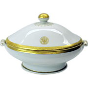 1900's US Ambassador to Japan US State seal tureen