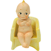 Rose O'Neill action Kewpie-The Governor in chair