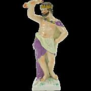 """Early KPM porcelain figure of the God Jupiter 5"""""""