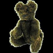 Early miniature chocolate Steiff bear