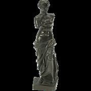 "Fine 19th Century bronze Venus De Milo figure signed Jullien Paris 6 1/2"""