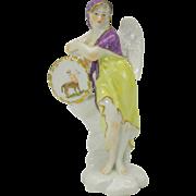 Fine antique porcelain Angel ZODIAC figure-Sagittarius