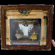 1850 Antoine Vichy Grodnertal doll Tableau Mecanique automaton picture