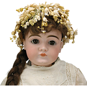 "24""  Closed mouth Kestner doll  German bisque doll"