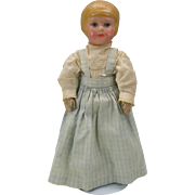 "13"" Martha Chase doll with bobbed hair painted stockinette"