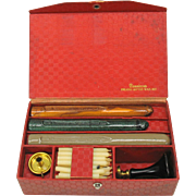 Vintage Dennison's Wax seal boxed set-seal is the letter H