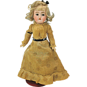 "Antique Simon & Halbig #192 doll 9"" all original German bisque head"