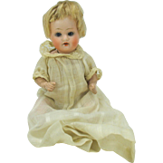 Steiner German bisque head baby doll 7""
