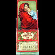 Hoods Calendar 1914 Madonnina The little Mother complete