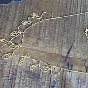 18K Yellow Gold Festoon Necklace