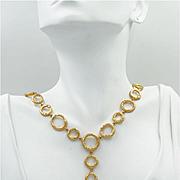 "One of a Kind ~Zambian Emerald & Diamond ""Bubbles"" Necklace"
