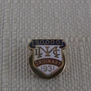 Metropolitan Life Insurance Co Pin 50,000 Ordinary 1931