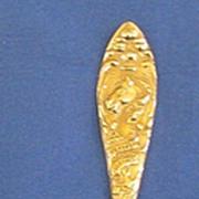 Philadelphia PA Sterling Silver Souvenir Spoon
