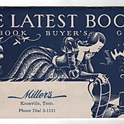 Miller's Department Store Knoxville TN Booklet of The Latest Books