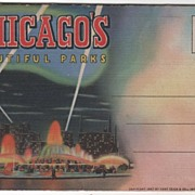 Souvenir Folder of Chicago's Beautiful Parks