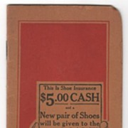 Friedman-Shelby International Shoe Co Red Goose Shoes Pocket Notebook