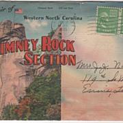 Souvenir of Western NC North Carolina Chimney Rock Region