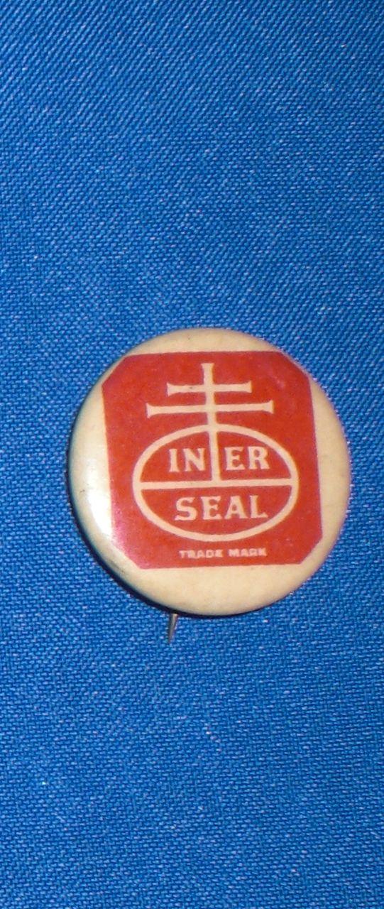 Nabisco Iner/Inner Seal Trade Mark Vintage Pinback Button
