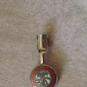 Vintage Brotherhood of Railroad Trainmen Pencil Clip - Red Tag Sale Item