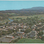 Aerial View Sevierville TN Tennessee Postcard