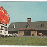 Carriage House Restaurant Townsend TN Tennessee Postcard
