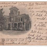 Carson Hall Carson-Newman College Jefferson City TN Tennessee Postcard