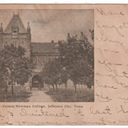 Main Building Carson-Newman College Jefferson City TN Tennessee Postcard