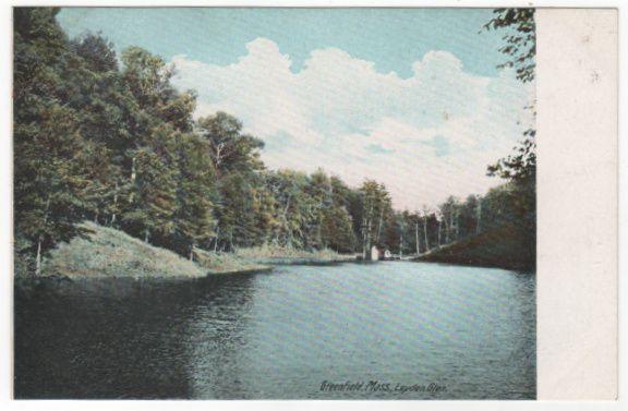 Greenfield MA Massachusetts Layden Glen Vintage Postcard