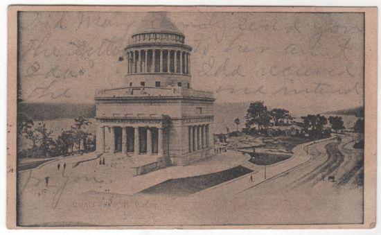 Grant's Tomb New York City NY New York Vintage Postcard