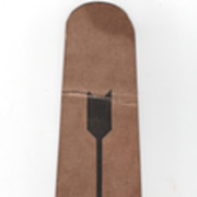 Crushed Tie or Cravat Knot Protector Heavy Duty Cardboard