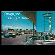 Vegas Chalet Motel North Las Vegas NV Nevada Vintage Postcard