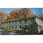 College Hall Montreat NC North Carolina Vintage Postcard