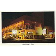 Plush Addition of Harrah's Casino Reno NV Nevada Vintage Postcard