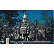 Capitol Building Carson City NV Nevada Vintage Postcard