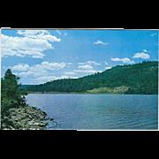 Lake Maloya 12 Miles from Raton NM New Mexico Vintage Postcard