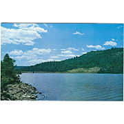 Lake Maloya 12 Miles from Raton NM New Mexico Vintage Postcard
