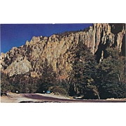 Palisades of Cimarron Northern NM New Mexico Vintage Postcard