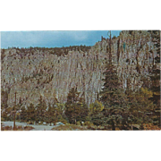 Palisades of the Cimarron Northern NM New Mexico Vintage Postcard