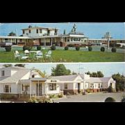 Dutch Maid Motels Woodbridge and Amboy NJ New Jersey Vintage Postcard