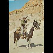 Ponderosa Ranch of Bonanza TV Fame Incline Village NV Nevada Vintage Postcard