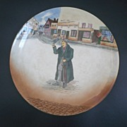 Royal Doulton Dickensware Mr. Squeers Plate