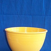 Fiesta Yellow #6 Mixing Bowl