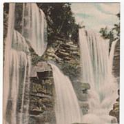 Haines Falls Catskill Mountains New York NY Postcard