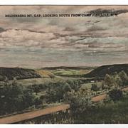 Helderberg Mt Gap Camp Pinnacle New York NY Postcard